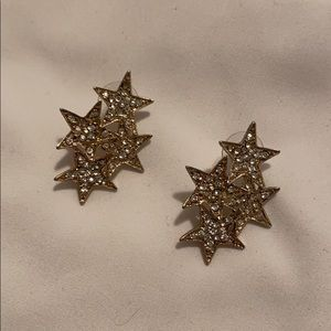 BaubleBar Star Cluster Statement Earrings